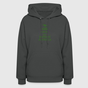 Keep Calm and support Australia - Women's Hoodie