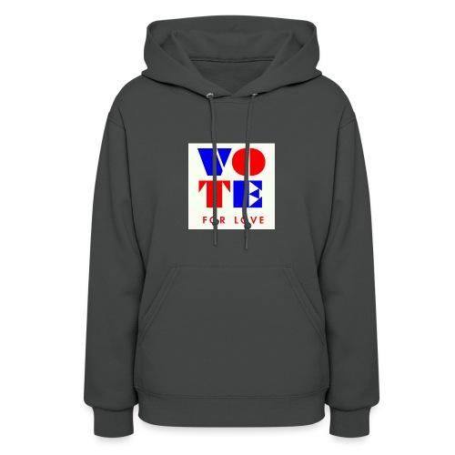 vote4love-sample - Women's Hoodie