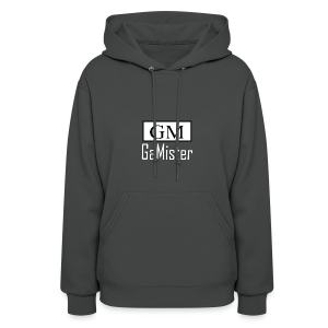 gamister_shirt_design_1_back - Women's Hoodie