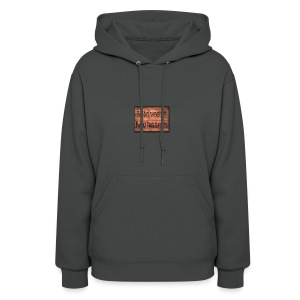 Midwest Monsters Wood Logo - Women's Hoodie