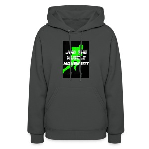 muscle movement - Women's Hoodie