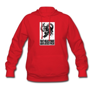 Fight the Black Snake NODAPL - Women's Hoodie
