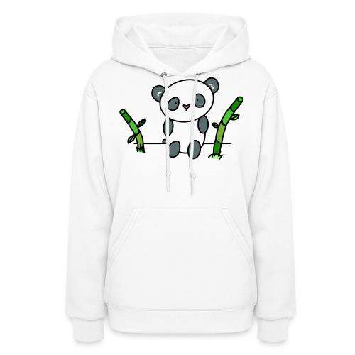 Panda with Bamboo - Women's Hoodie