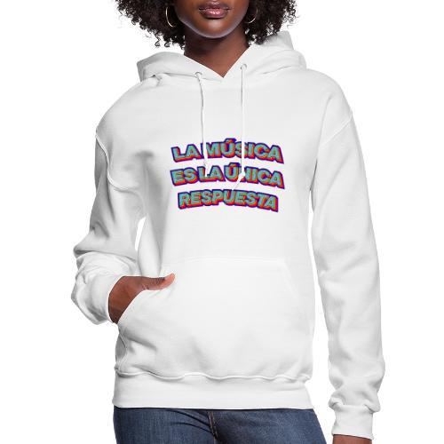 La musica logo - Women's Hoodie