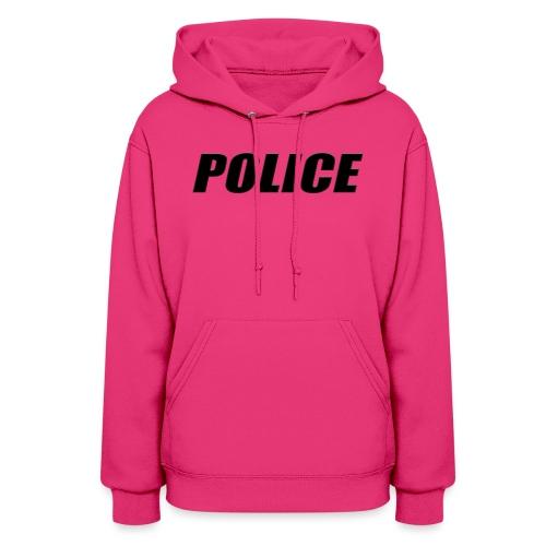 Police Black - Women's Hoodie