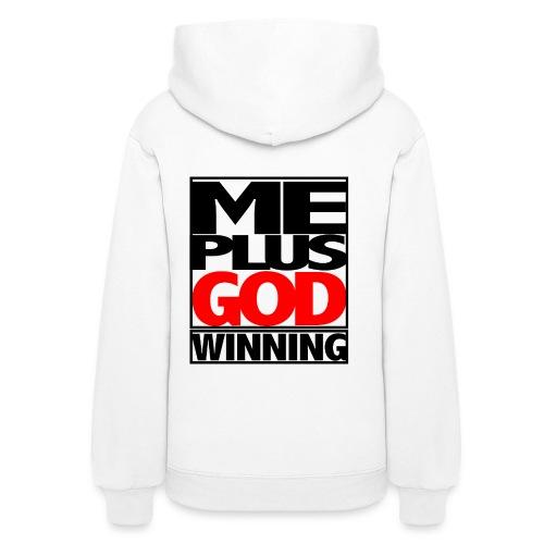 ME GOD WIN - Women's Hoodie