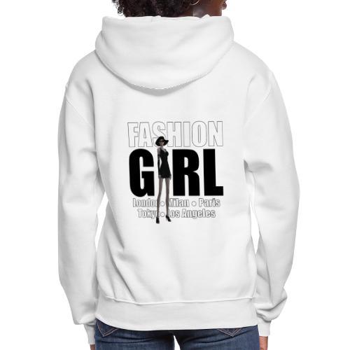 The Fashionable Woman - Fashion Girl - Women's Hoodie