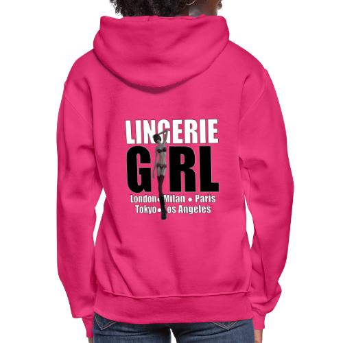 The Fashionable Woman - Lingerie Girl - Women's Hoodie