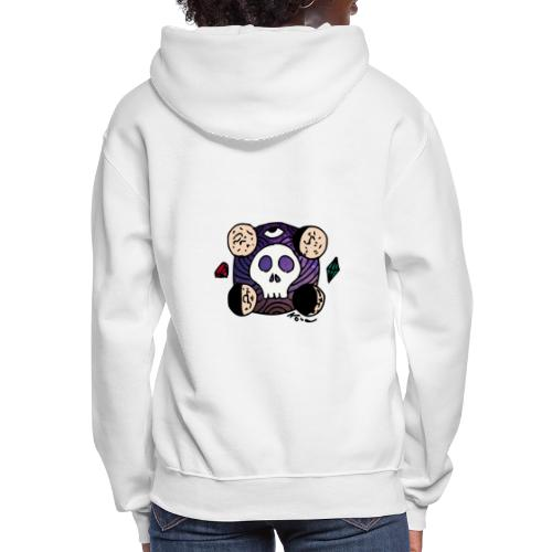 Moon Skull from Outer Space - Women's Hoodie