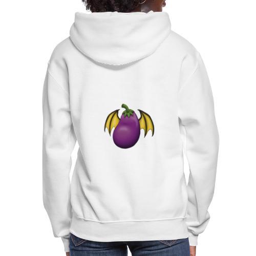 Eggplant Logo - Women's Hoodie