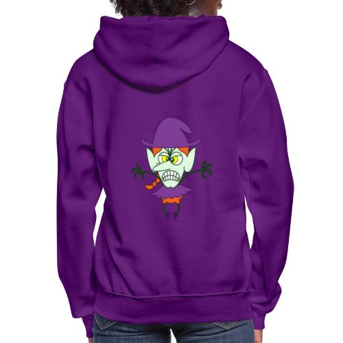 Scary Halloween Witch - Women's Hoodie