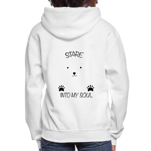 Polar Bear Stare - Women's Hoodie