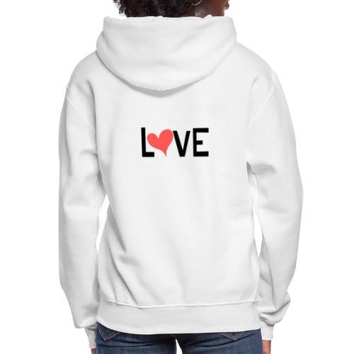 LOVE heart - Women's Hoodie