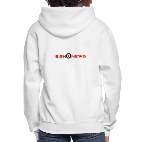 Sign1 Fashion - Women's Hoodie