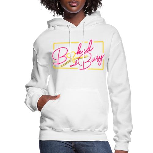 Booked & Busy Tee - Women's Hoodie