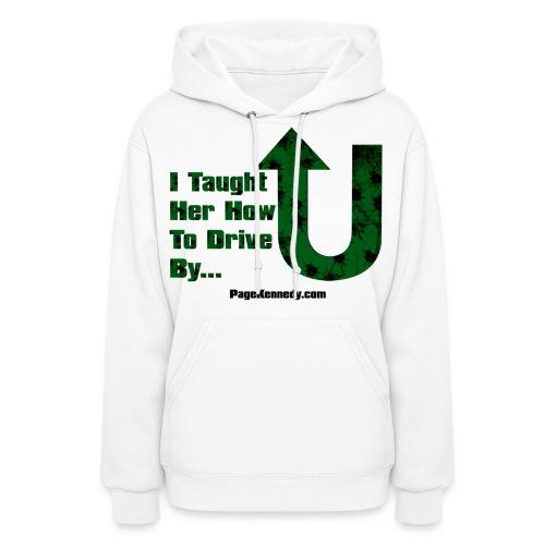 drive green burl - Women's Hoodie