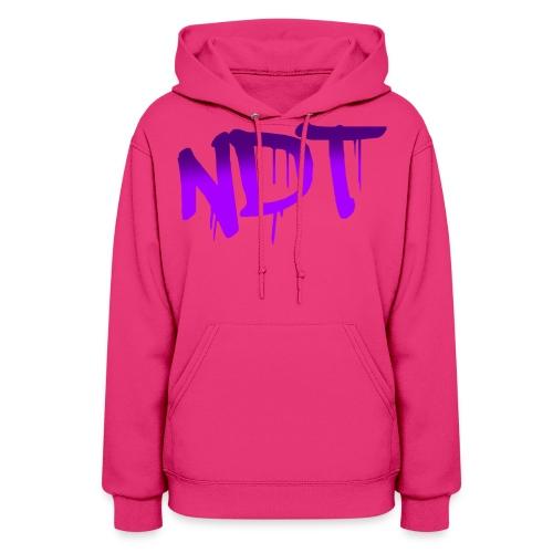 NDT hoodie logo3 png - Women's Hoodie