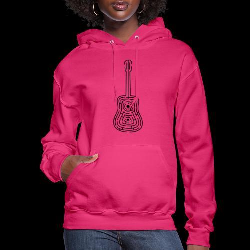 Amazing Guitar - Customizable Color Design - Women's Hoodie