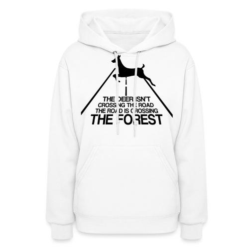 Deer's forest - Women's Hoodie