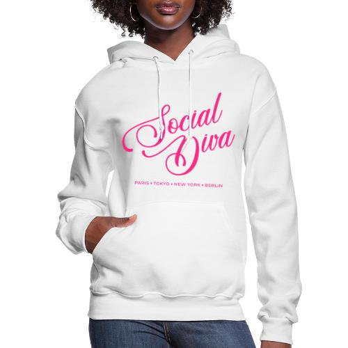 social fashion diva style - Women's Hoodie