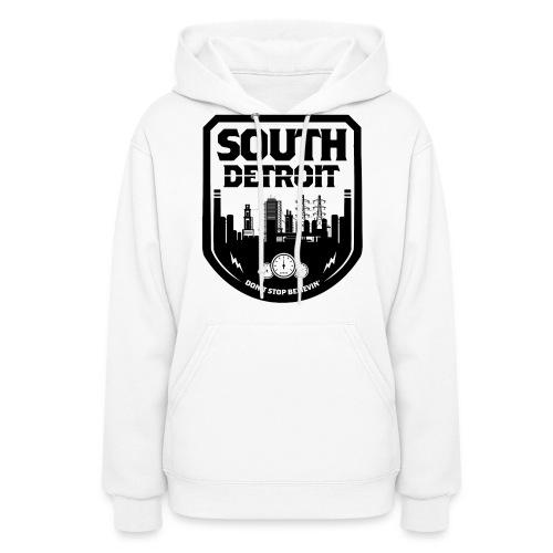 South Detroit Black - Women's Hoodie