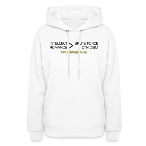 shirt intellect - Women's Hoodie