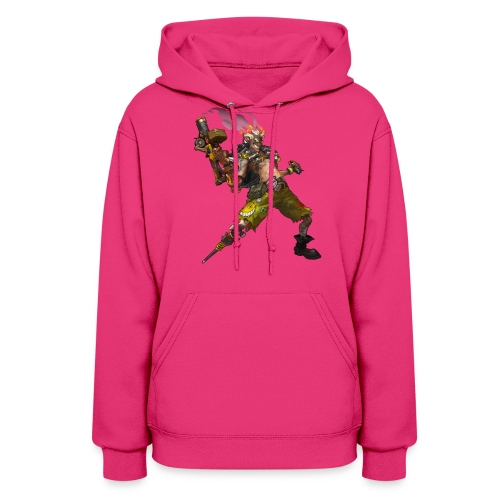 junkrat overwatch drawn by arnold tsang 2baffe0 - Women's Hoodie