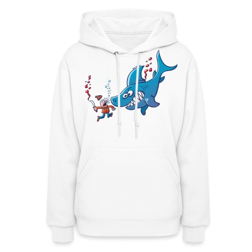 Sharks are Furious, Stop Finning! - Women's Hoodie