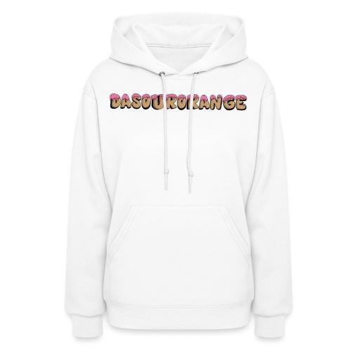 DaSourOrange Donut Design - Women's Hoodie