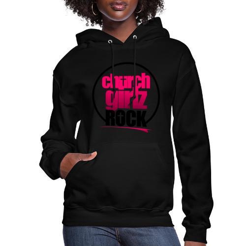 church girlz rock - Women's Hoodie