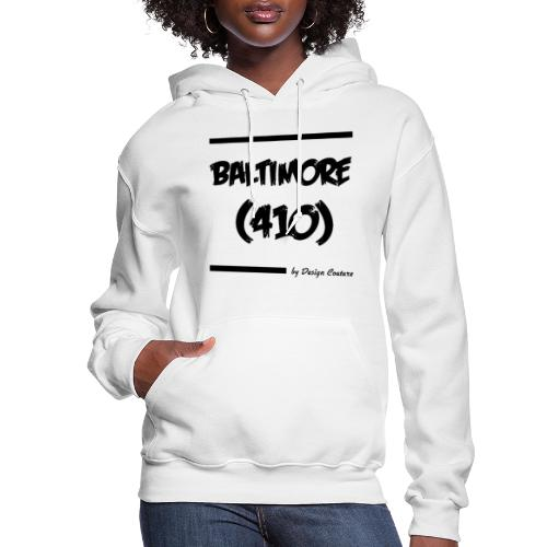 BALTIMORE 410 BLACK - Women's Hoodie