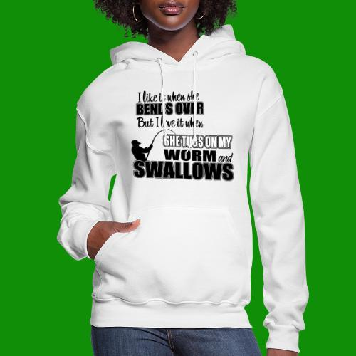 Worm & Swallows - Women's Hoodie