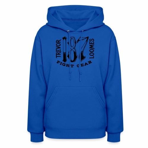 Trevor Loomes 187 Fight Gear Street Wear Logo - Women's Hoodie