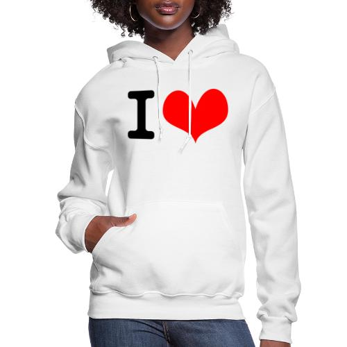 I Love what - Women's Hoodie
