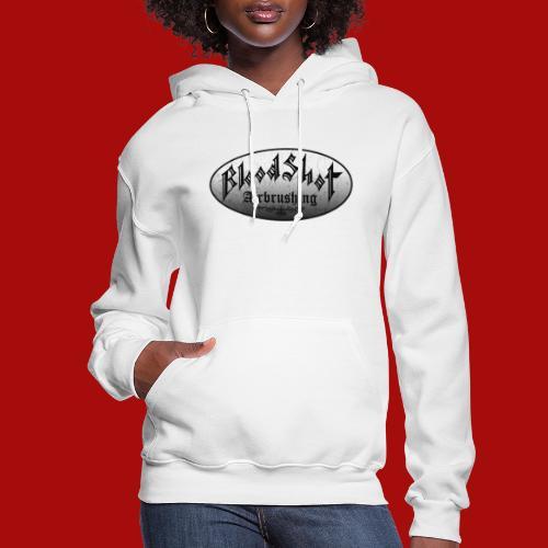 BloodShot Logo Black/White - Women's Hoodie