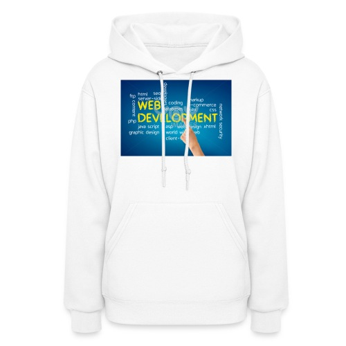 web development design - Women's Hoodie