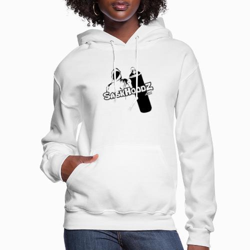 saskhoodz logo black - Women's Hoodie