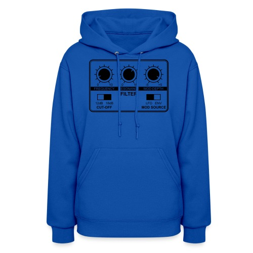 Synth Filter with Knobs - Women's Hoodie