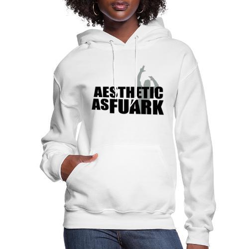 Zyzz Aesthetic as FUARK - Women's Hoodie
