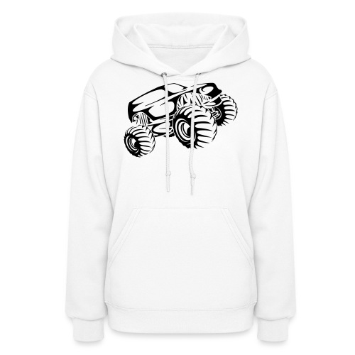 Monster Truck Abstract - Women's Hoodie