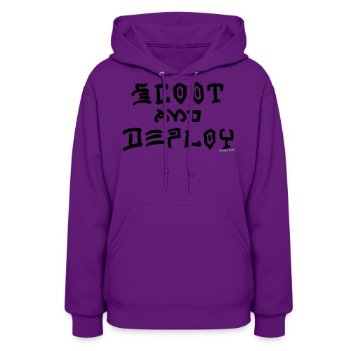 Scoot and Deploy - Women's Hoodie