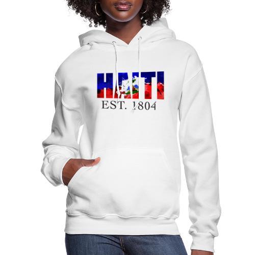 HAITI EST. 1804 - Women's Hoodie