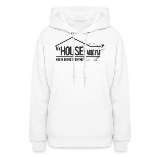 My House Radio Black Logo - Women's Hoodie