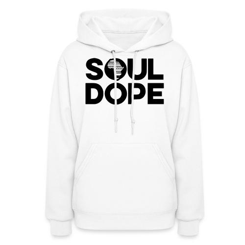 souldope Black Logo - Women's Hoodie