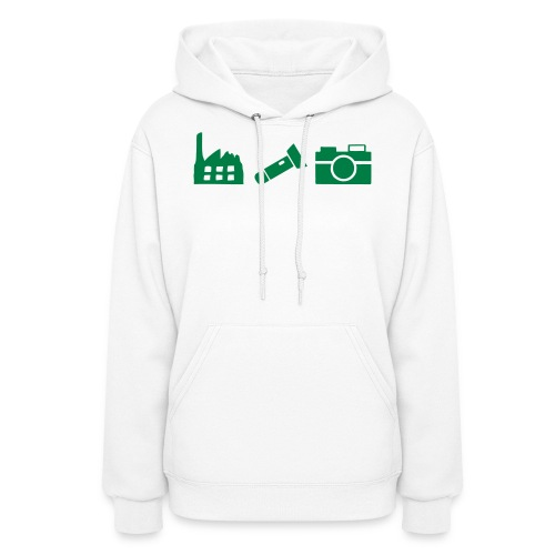 DCUE_Icons_Small - Women's Hoodie