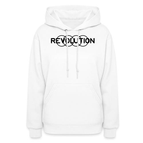 Revolution Black Logo - Women's Hoodie