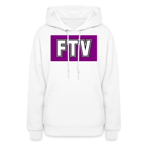 Purple FTV Logo Design - Women's Hoodie
