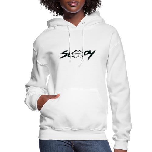 Sleepy Logo Black - Women's Hoodie