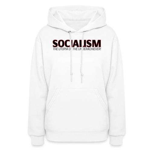 SOCIALISM UTOPIA - Women's Hoodie