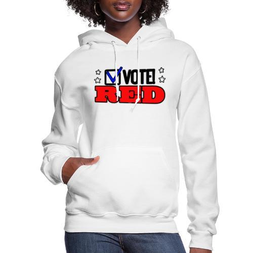 VOTE RED - Women's Hoodie